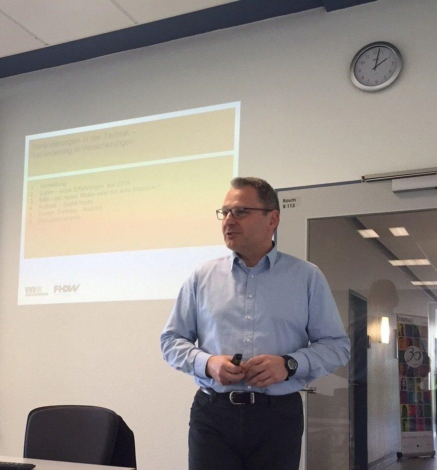 Herausforderungen zur Weiterentwicklung des Geschäftsmodells Versicherungen | FHDW Hannover | Vorlesungstag 5