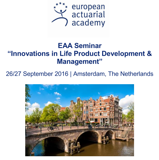 Innovations in Life Product Development & Management | Amsterdam